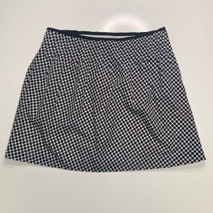 Kenneth Cole Black and White Mini Skirt